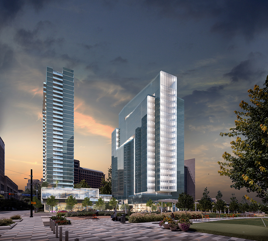 New Dallas Mixed Use Development Spotlights And Extends A