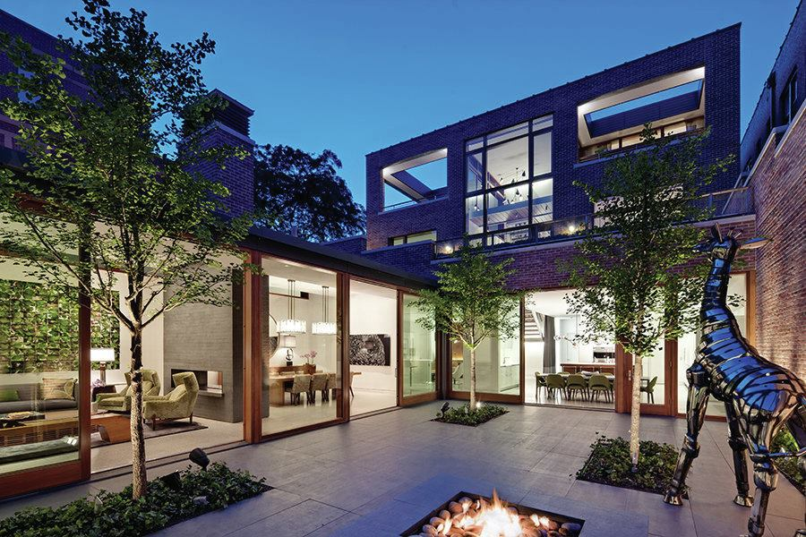 Of The Year Lincoln Park Residence Chicago Custom Home Magazine
