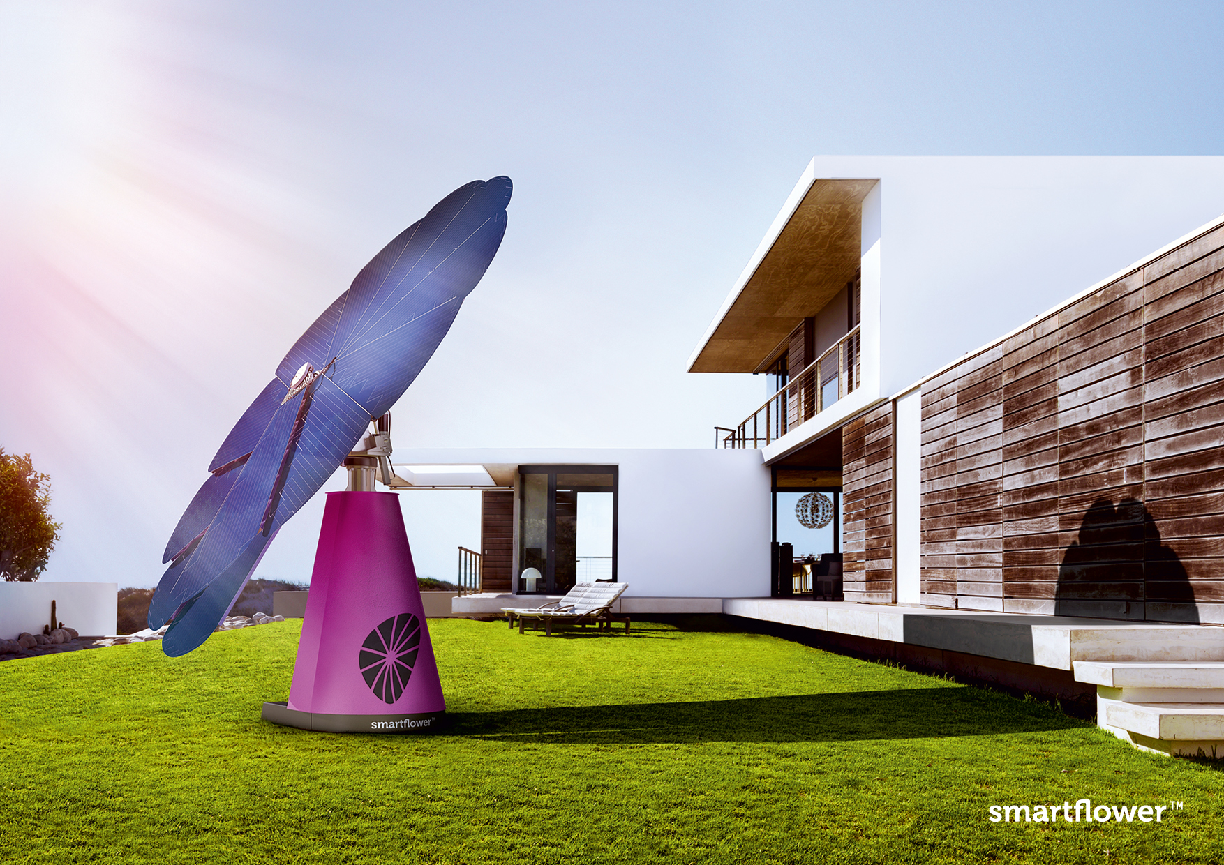 Smartflower Pop Harvests The Sun S Power Easily And
