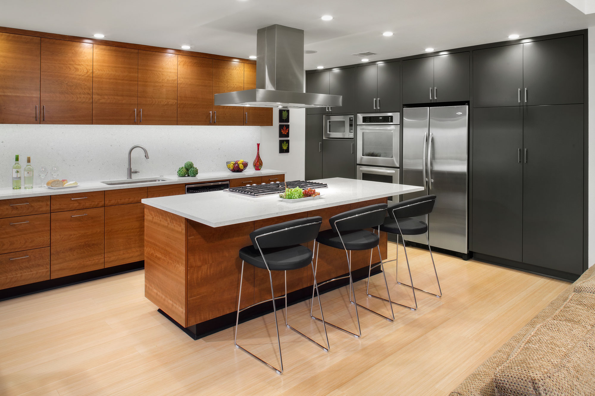 Burst Pipes Lead To An Inspired Whole House Remodel Remodeling Awards De