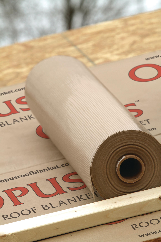 Slip Resistant Roof Underlayment From Propex Ecobuilding