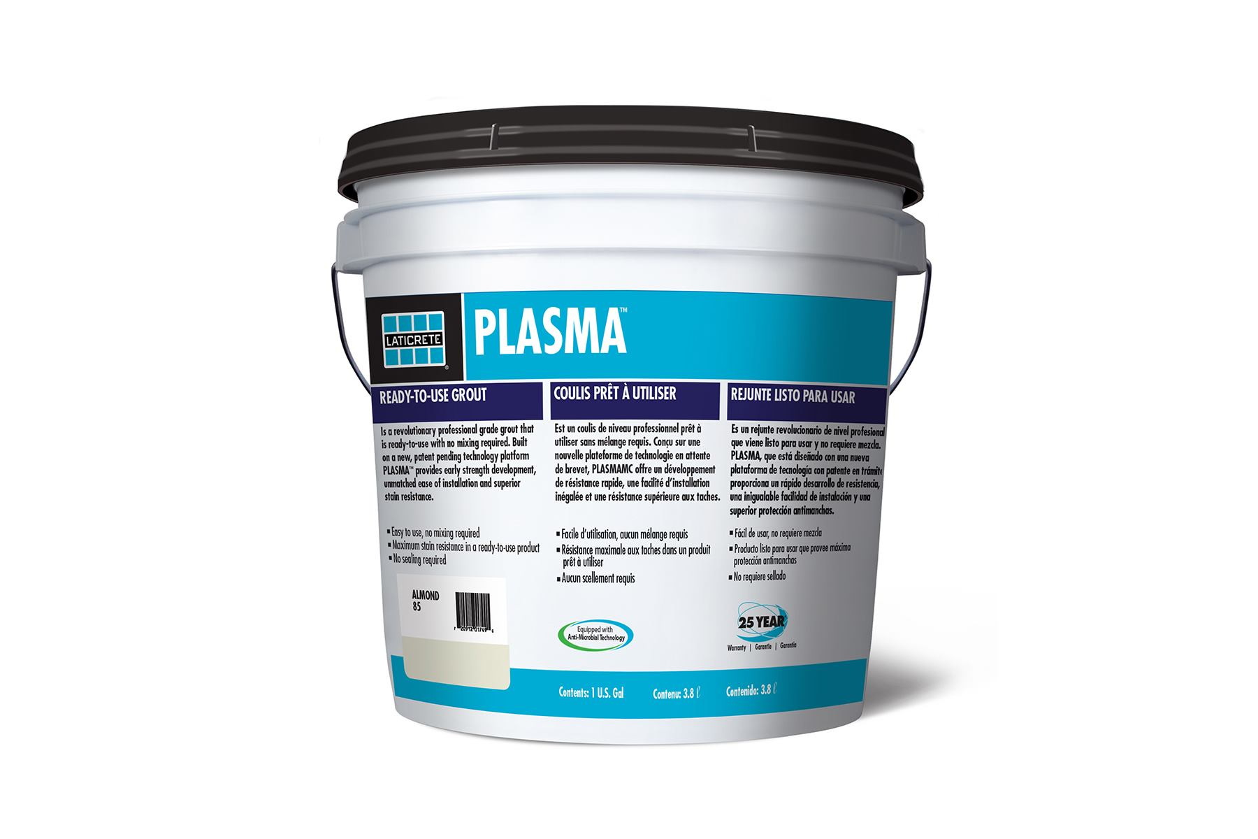 Laticrete Plasma Grout Resists Mildew And Color Change
