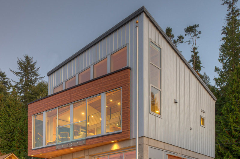 Tsunami House Custom Home Magazine Designs Northwest