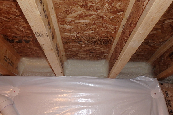 Airtight new homes top trouble spots jlc online for Best insulation for new home construction