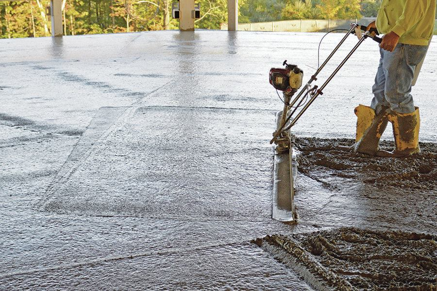 Self-Leveling Overlays for Fast, Flat Floors  Concrete Construction