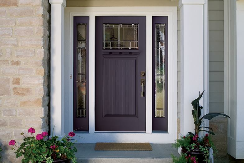Look For Bold Bright Entry Doors In 2014 Custom Home