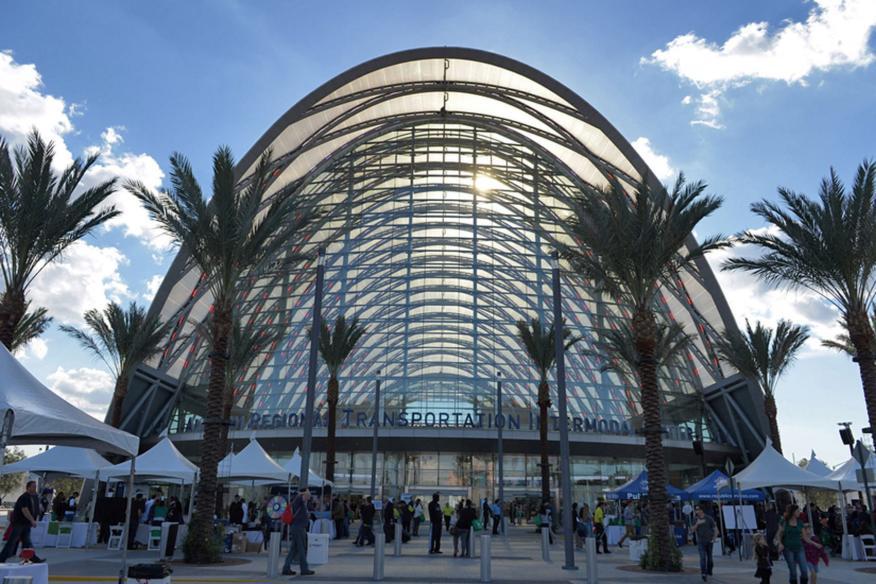 Anaheim Regional Transportation Intermodal Center Architect