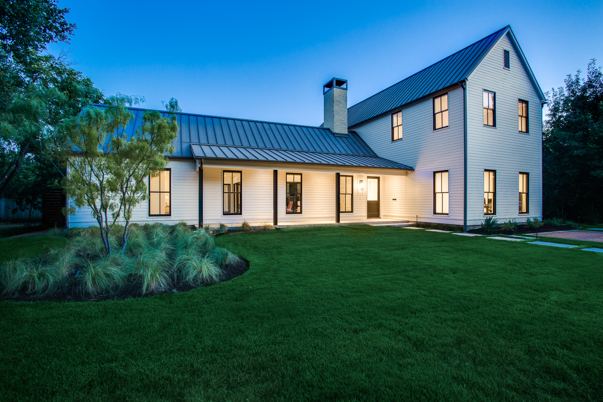 Urban farmhouse in dallas is an instant classic builder for Modern home builder magazine