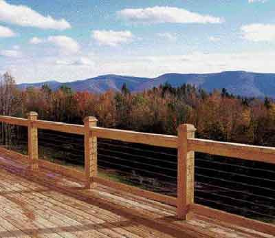 Installing Cable Railing Jlc Online Framing Natural