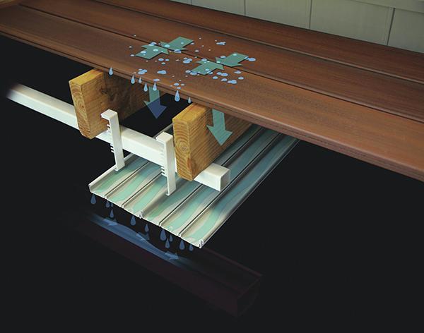 Certainteed S Deck Drainage System Prosales Online