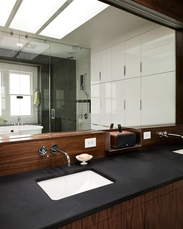 Wright Lane Master Bath Architect Magazine Charlottesville Va United States Custom