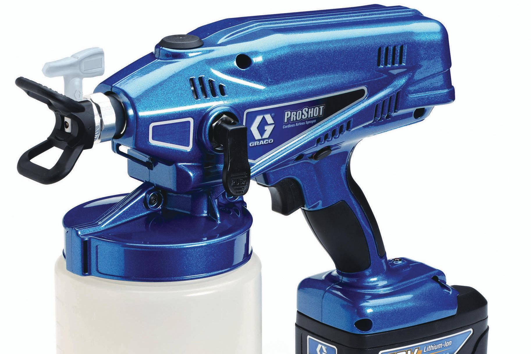 Graco Proshot Paint Sprayer Builder Magazine Products
