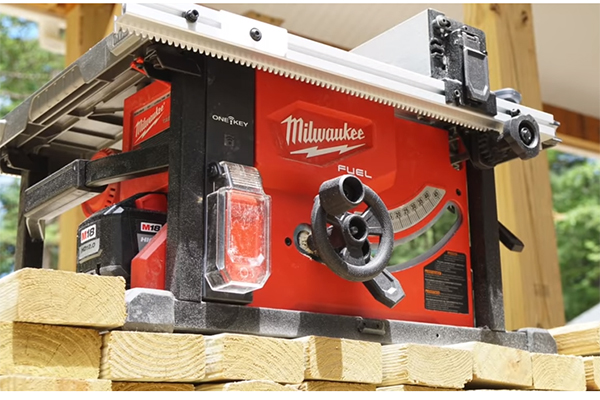 Tested The Milwaukee Cordless Table Saw Tools Of The Trade