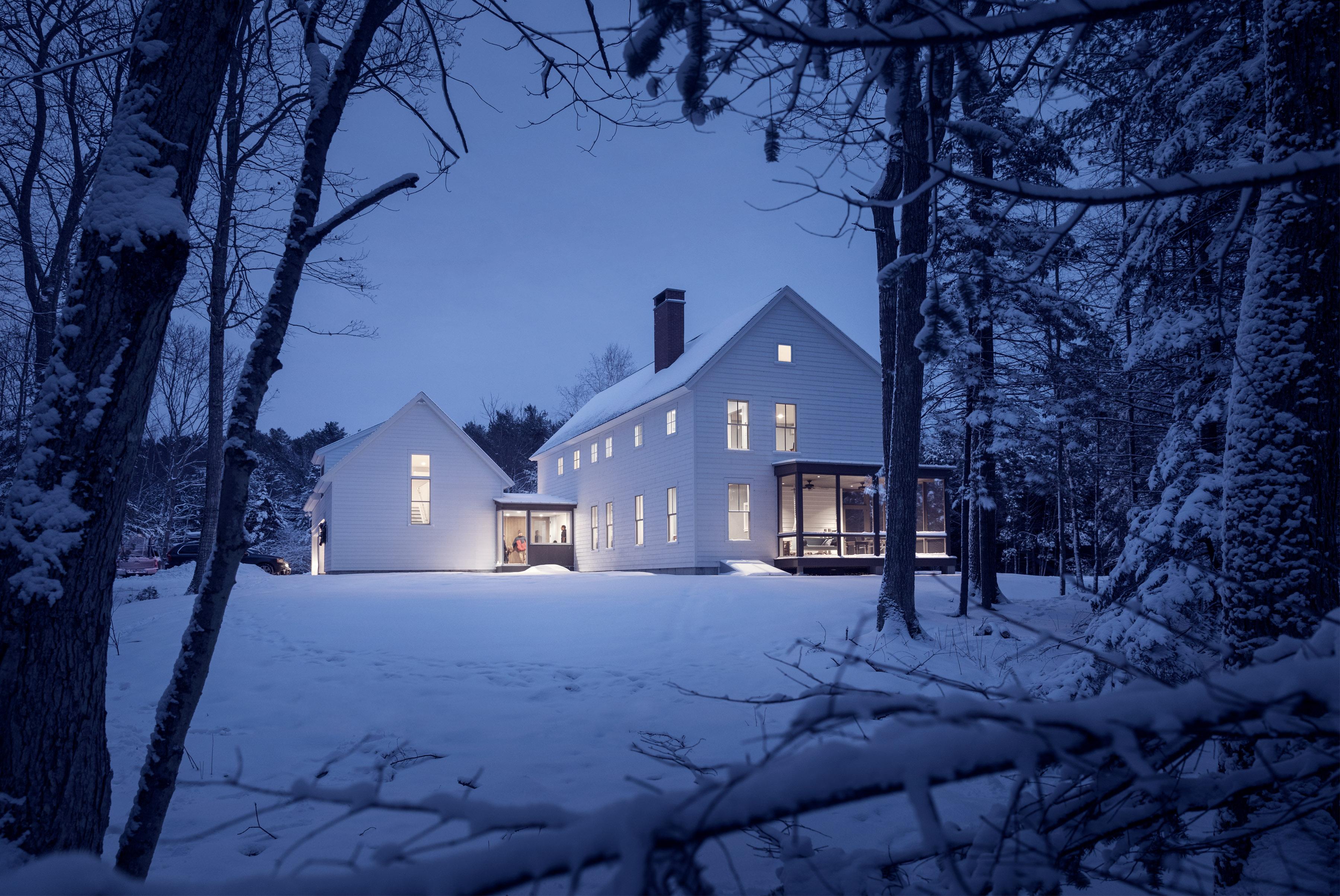 Family farmhouse whitten architects