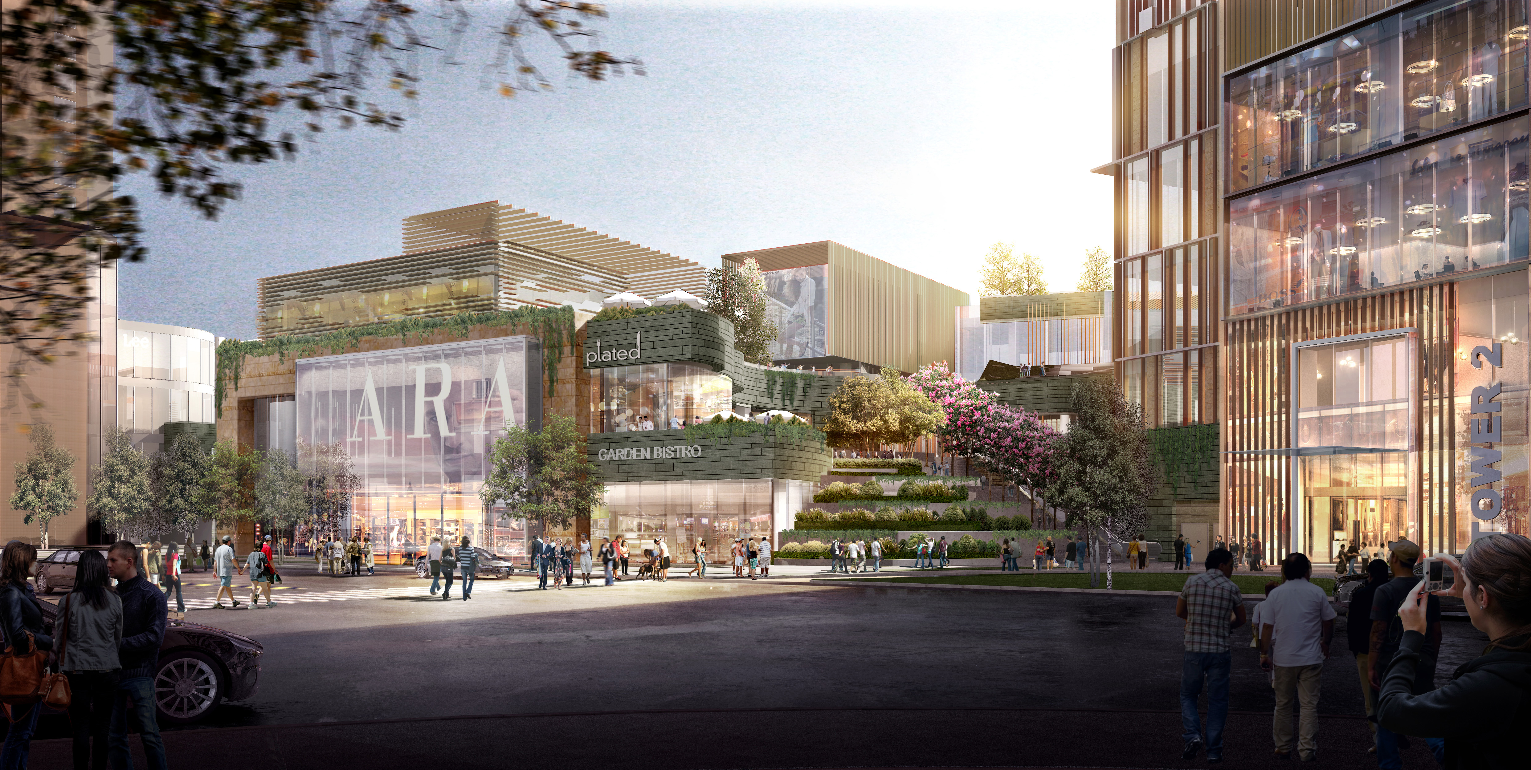 Park place architect magazine 5 design wuhan china for Shopping in cina