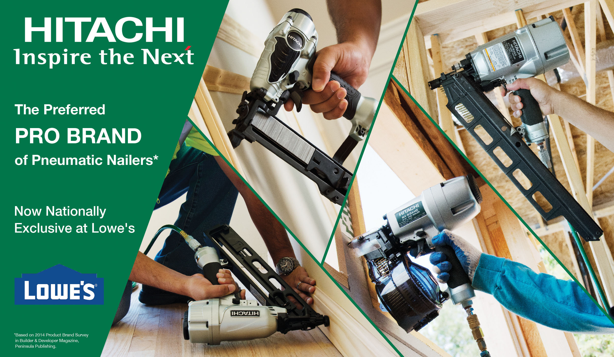 Lowe S And Hitachi Freeze Out Home Depot Tools Of The