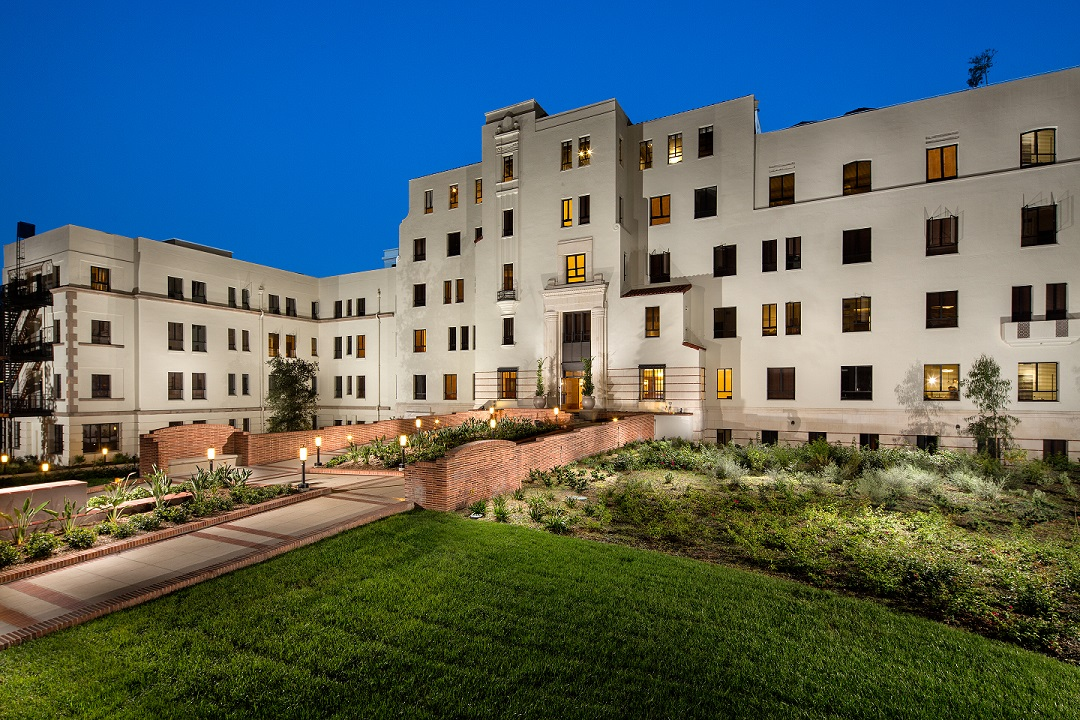 Historic L A Hospital Revived As Housing Housing Finance