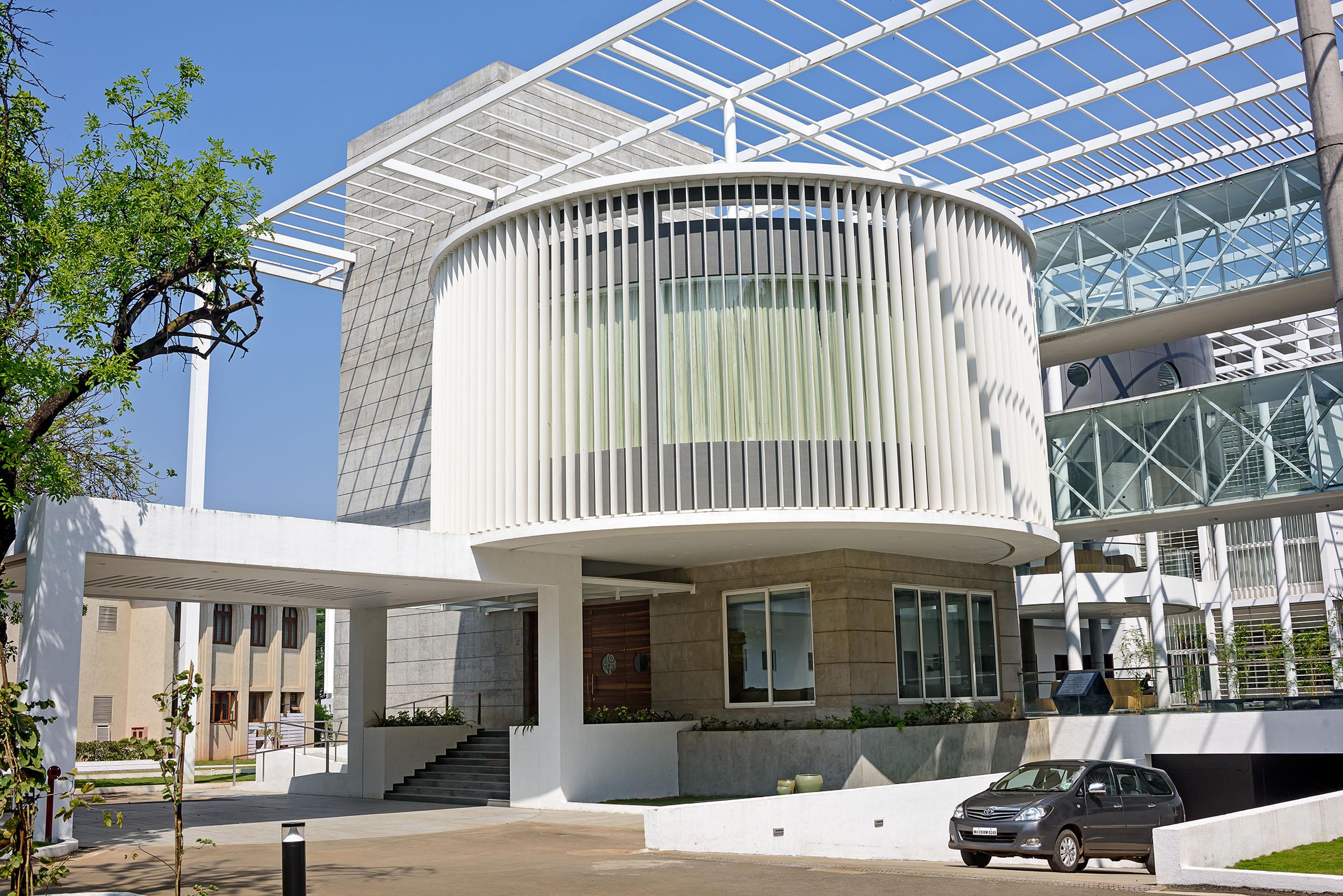 Vvip Circuit House Architect Magazine Sunil Patil And