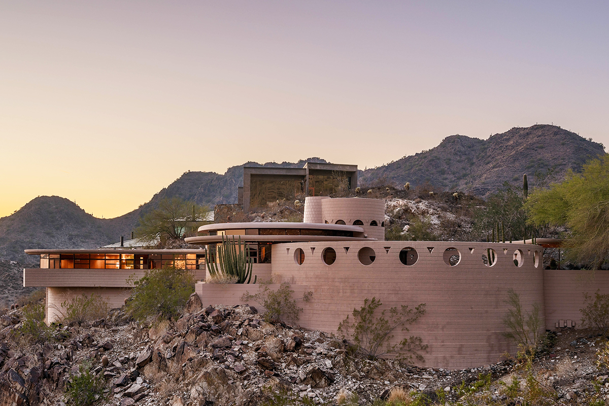 Frank lloyd wright designed norman lykes house is back on the market architect magazine residential projects single family architects architecture