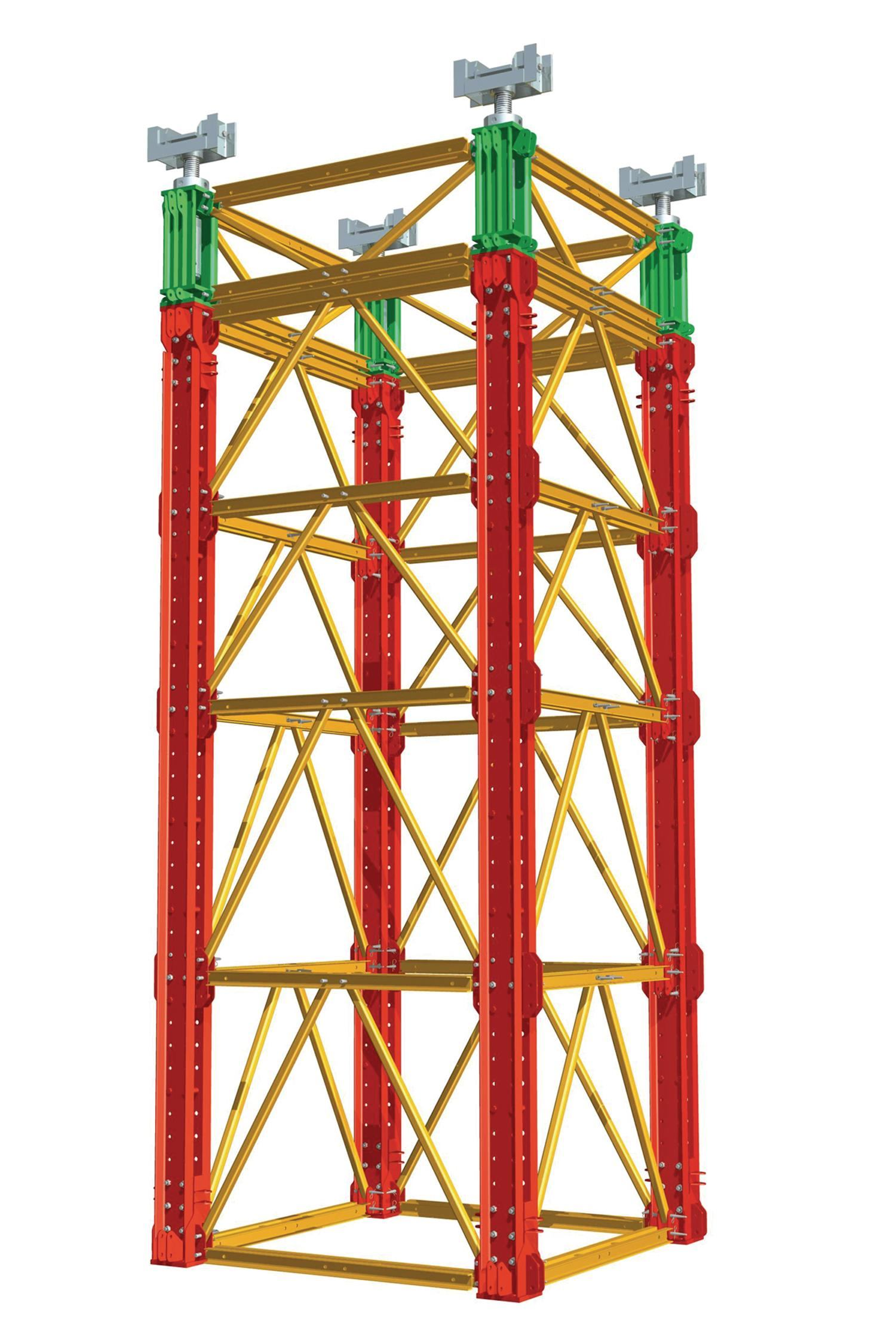 Peri Formwork Systems Inc Variokit Shoring Tower