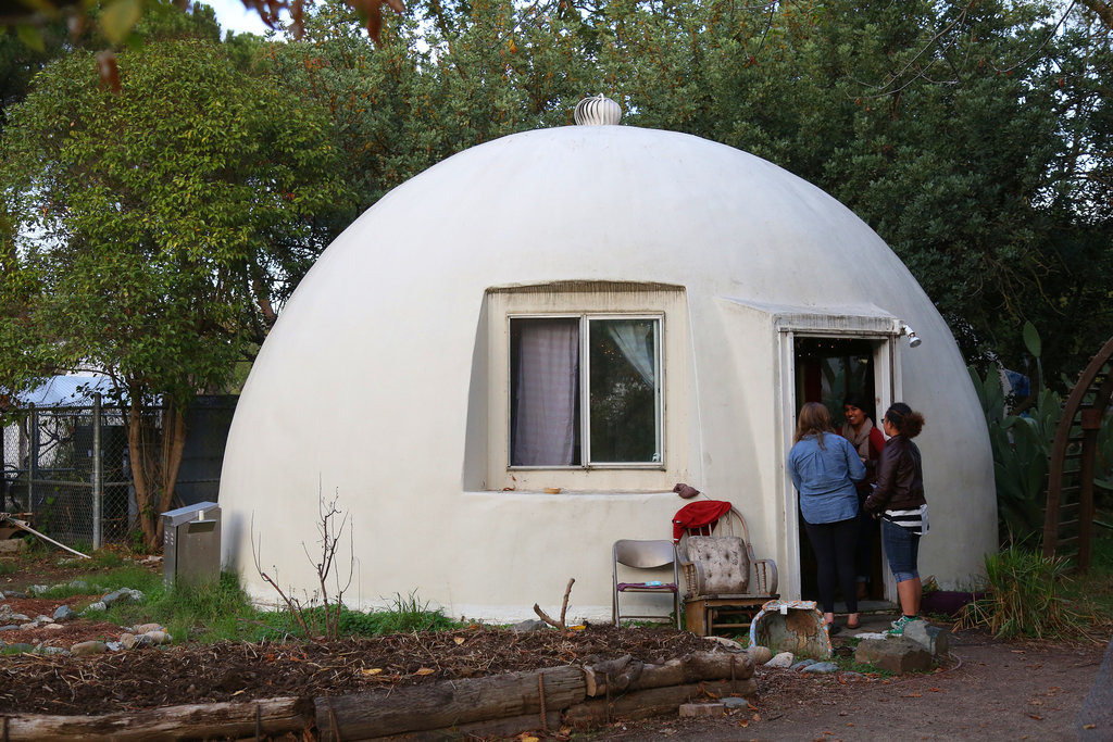 Sustainable Student Living Inside The Davis Domes