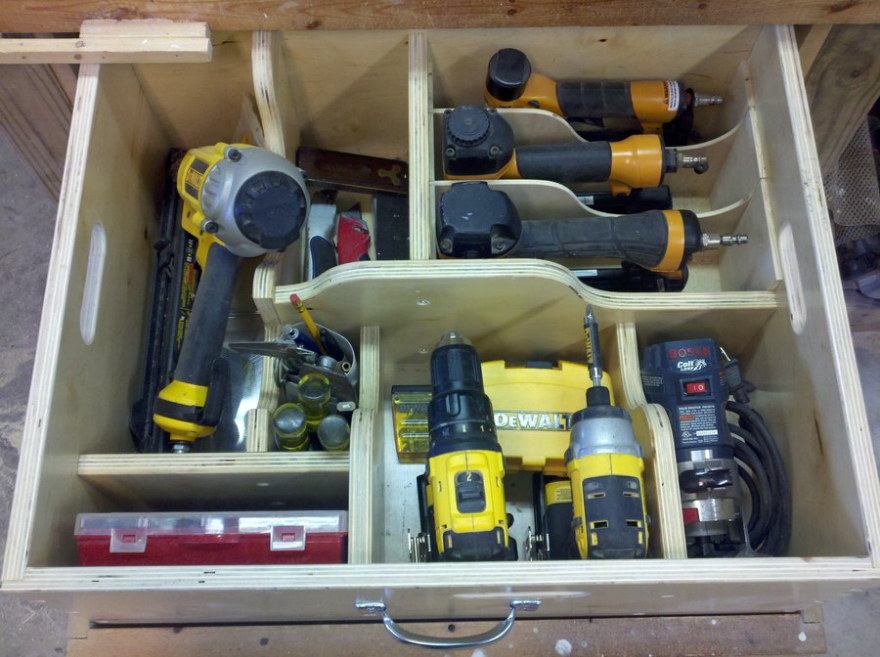 Removable Shop Drawers Tools Of The Trade