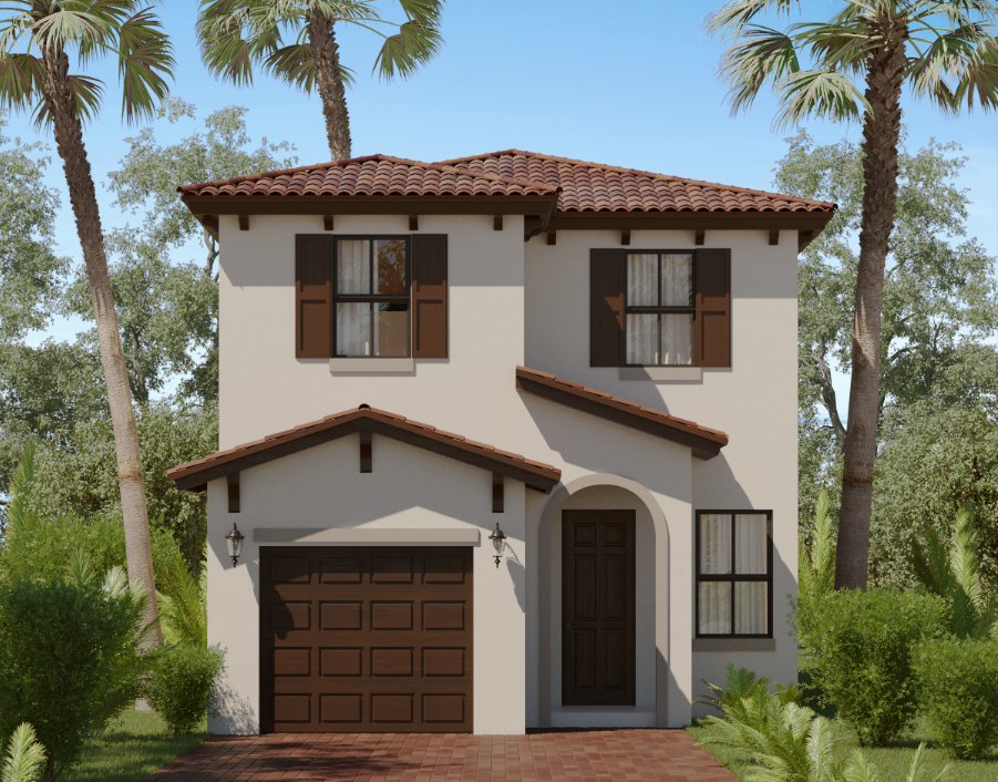 Florida Infill Builder Gets Creative with Entry
