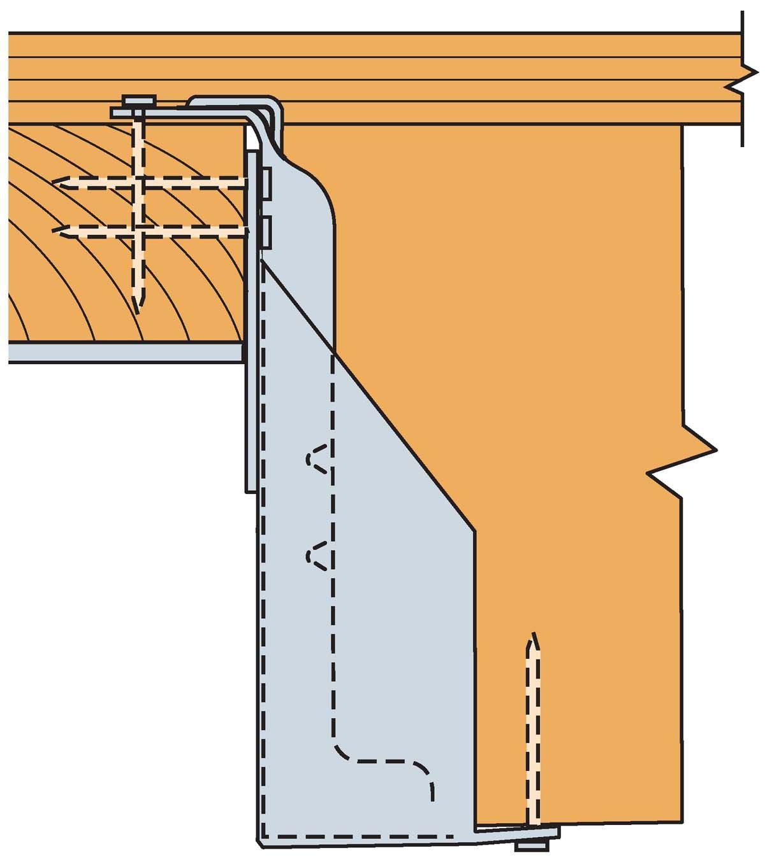 Ruz Retrofit U Hanger For Panelized Roof Construction By