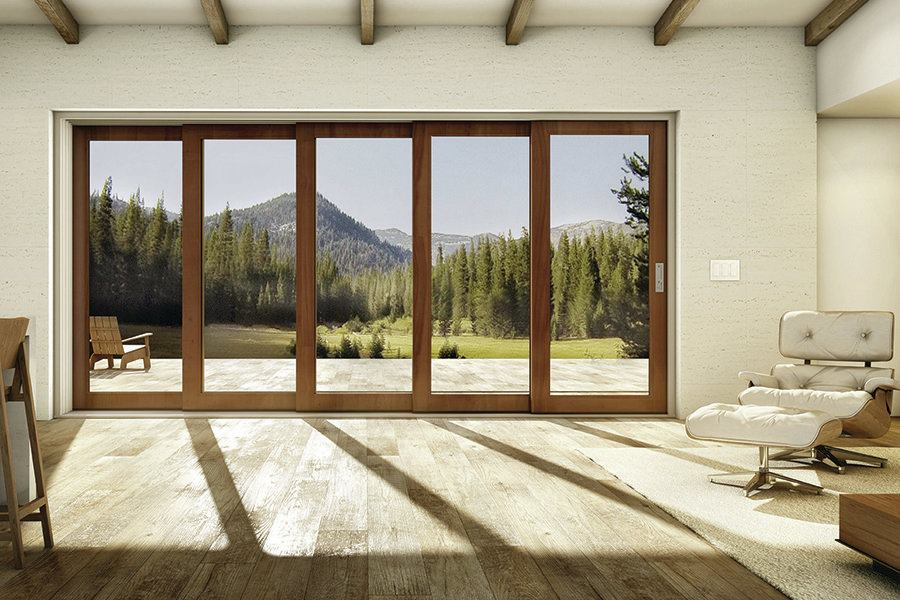 Marvin introduces ultimate multi slide door jlc online for Multiple sliding glass doors