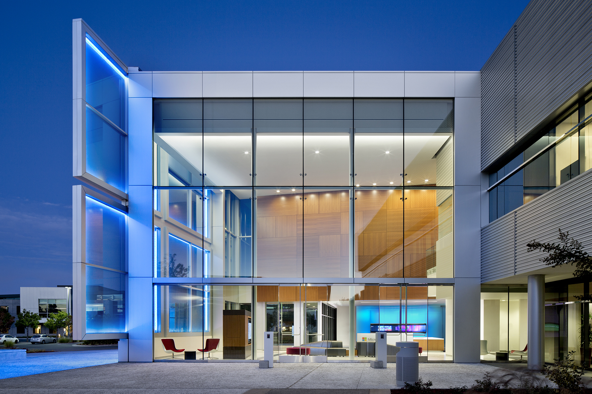 2015 al design awards microsoft technology center for Exterior research and design