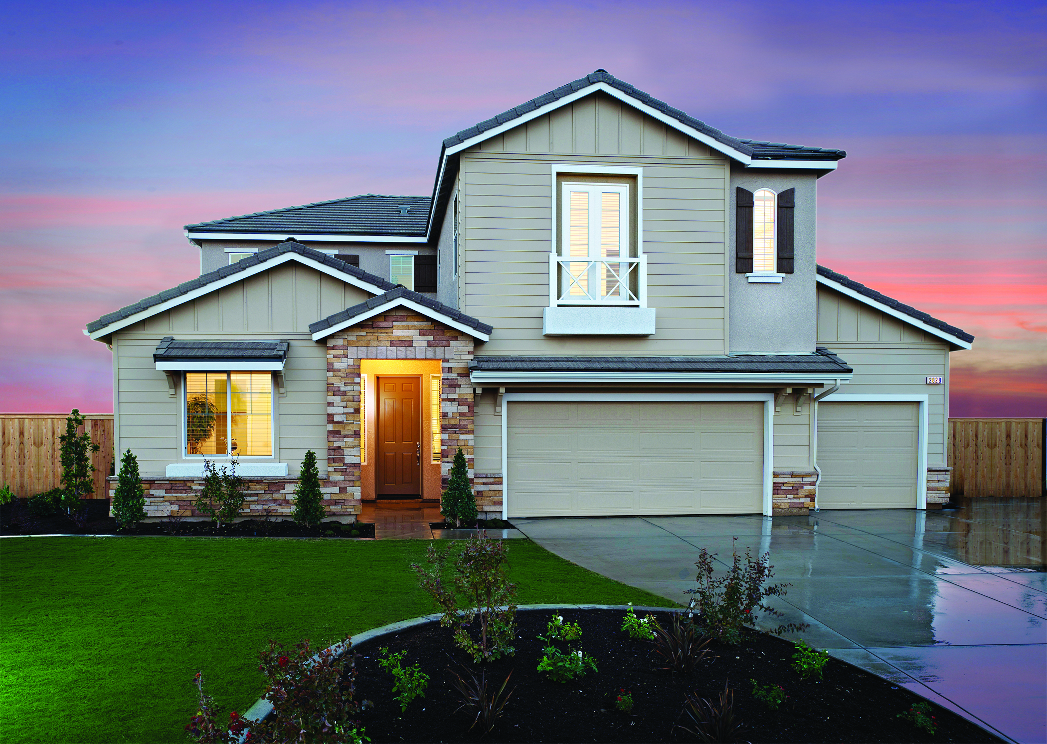 de young properties opens new model home center builder magazine