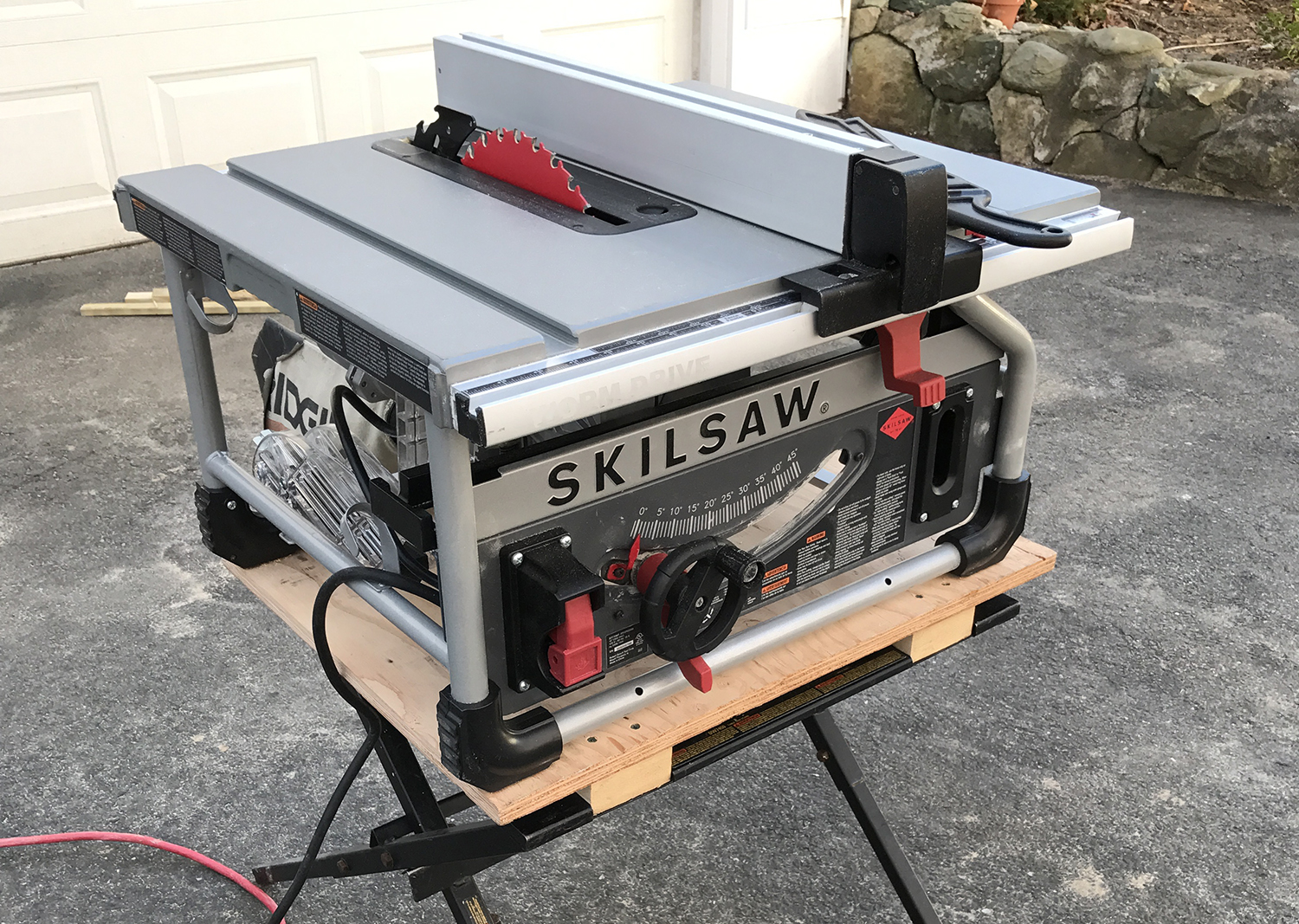 Worm drive table saw professional deck builder table saws greentooth Images