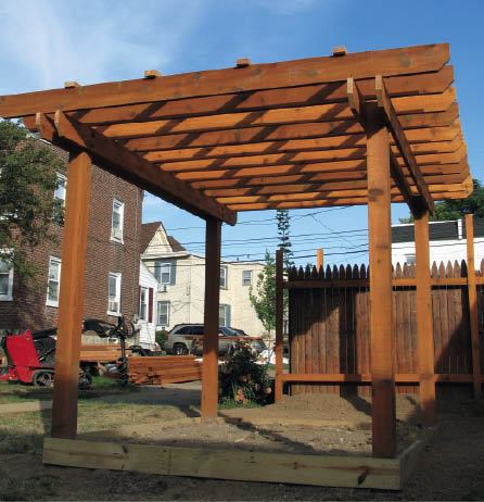designing a pergola from the ground up professional deck builder additions outdoor rooms. Black Bedroom Furniture Sets. Home Design Ideas