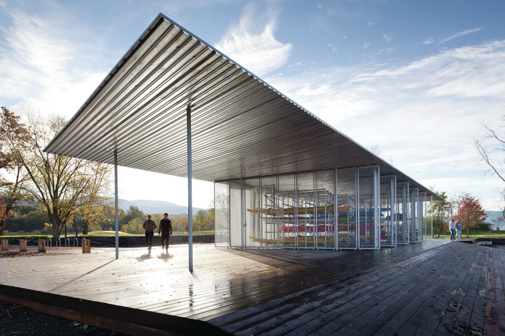 2013 Aia Honor Awards Boat Pavilion For Long Dock Park