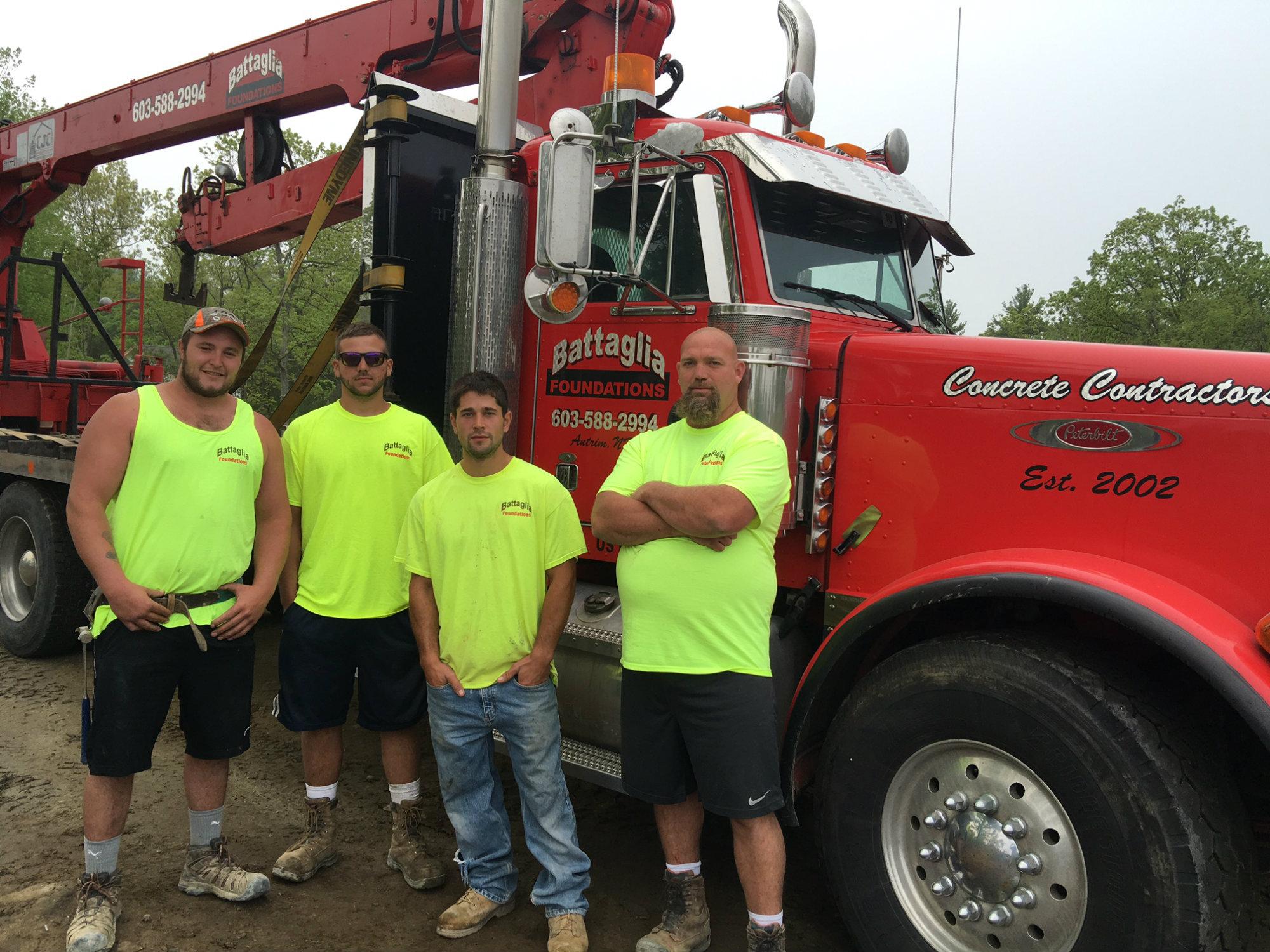 Battaglia foundations concrete construction magazine for America s best contractors
