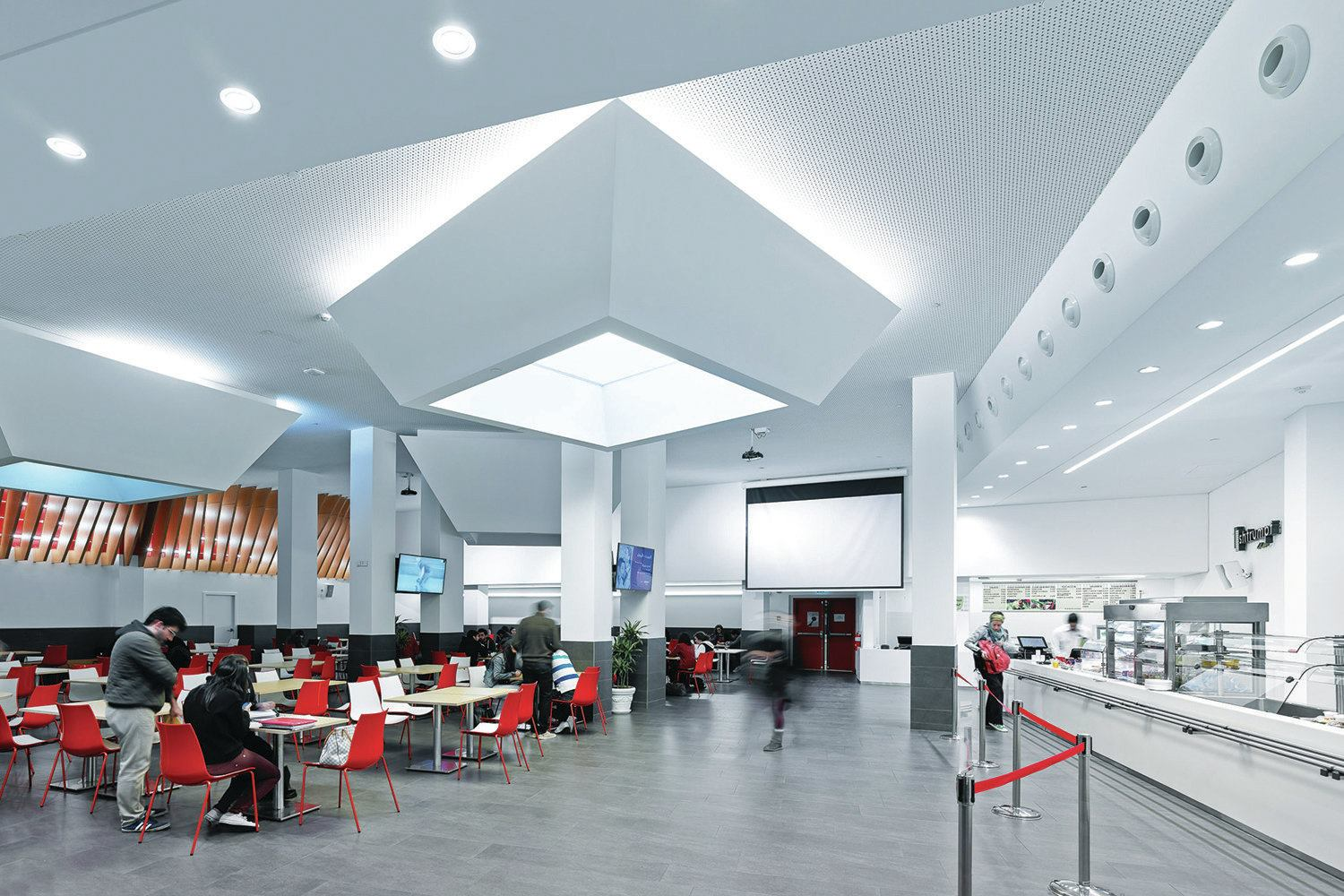 Bright Spot Lau Student Center Architectural Lighting