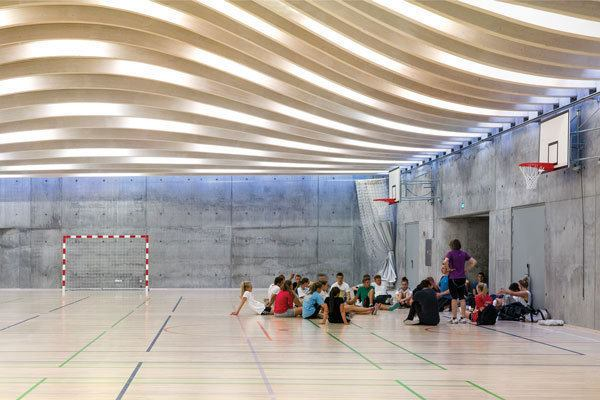 Gammel Hellerup Gymnasium Architect Magazine Education