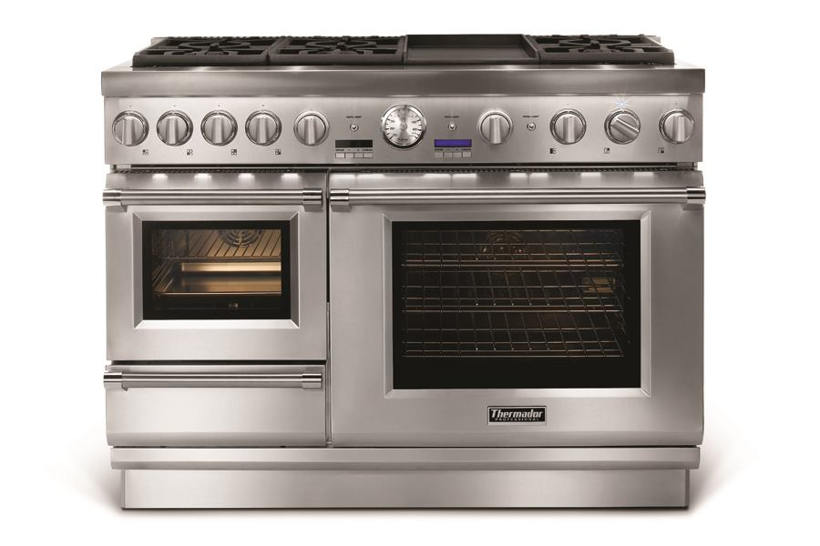 48 Inch Pro Grand Steam Range By Thermador Custom Home