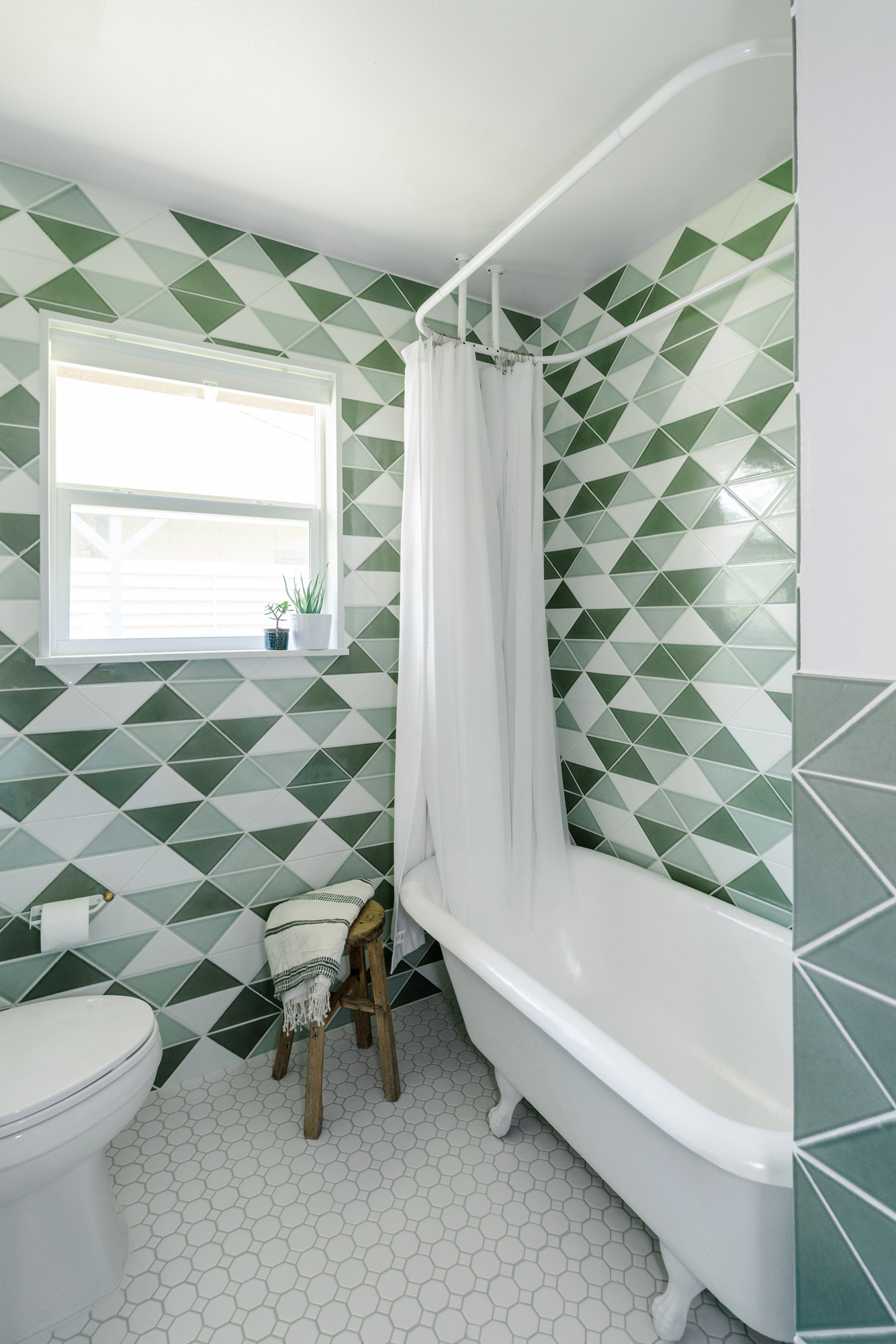 Fireclay Tile Goes Graphic with Triangle Collection | JLC Online ...