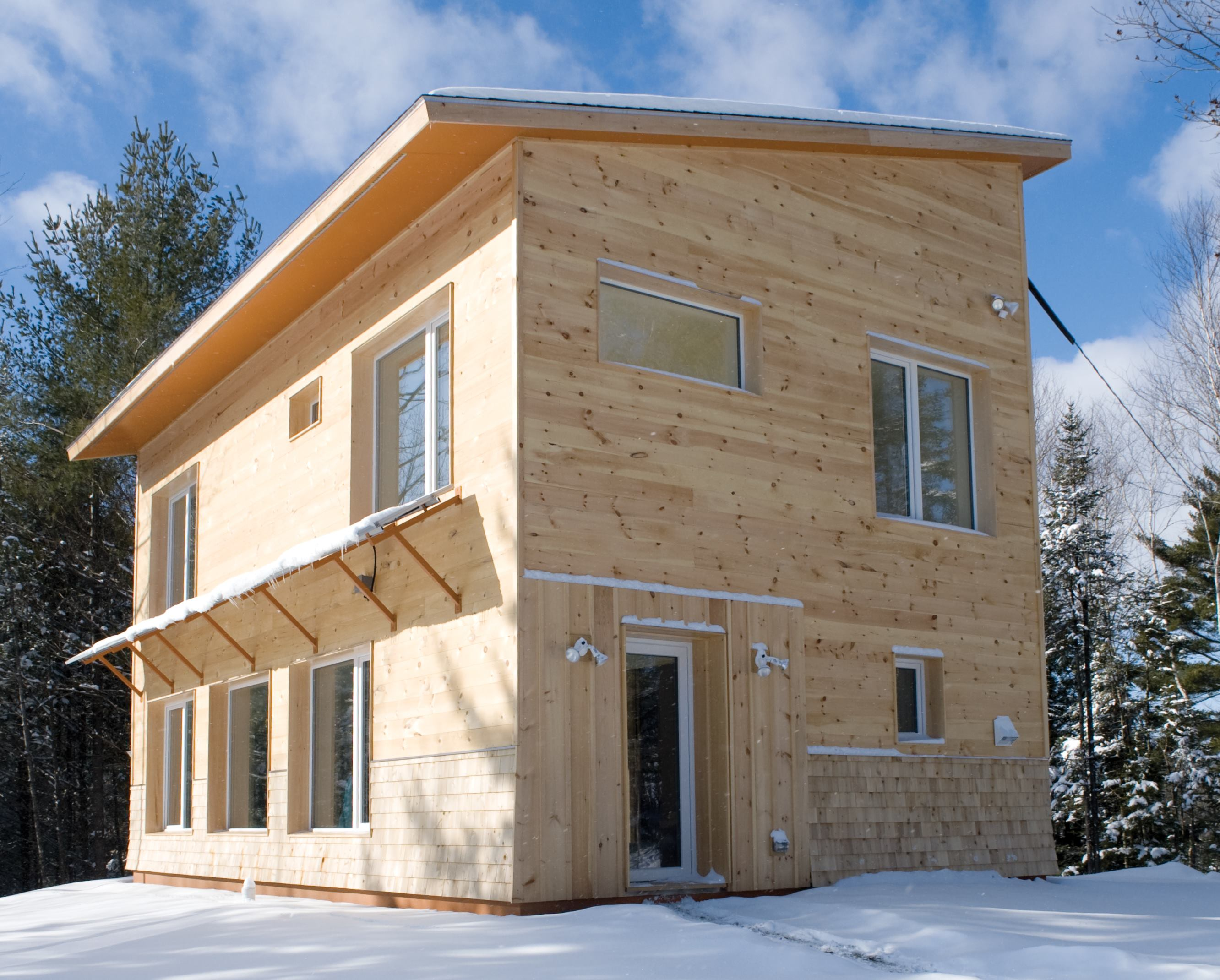 An affordable passive house part 1 airtight and super for Cheap efficient homes
