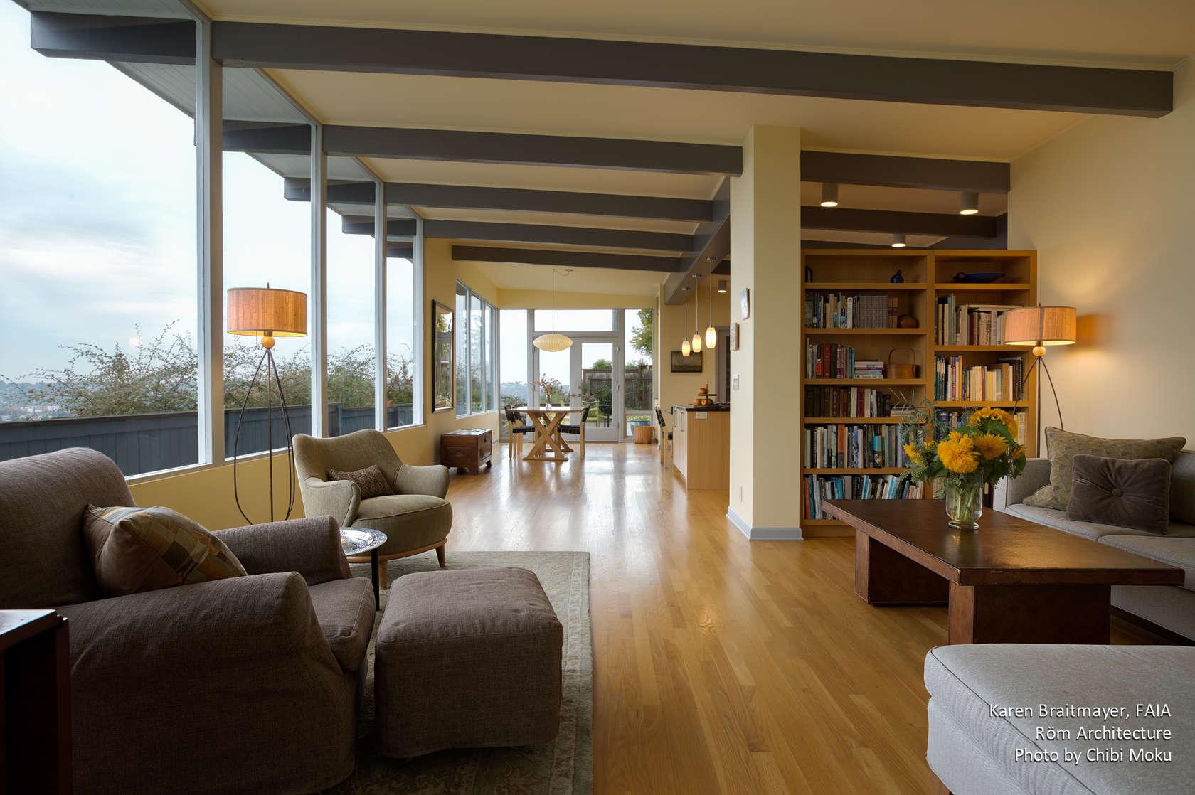 Excellent Rom Architecture Karen Braitmayer Mid Century Modern Machost Co Dining Chair Design Ideas Machostcouk