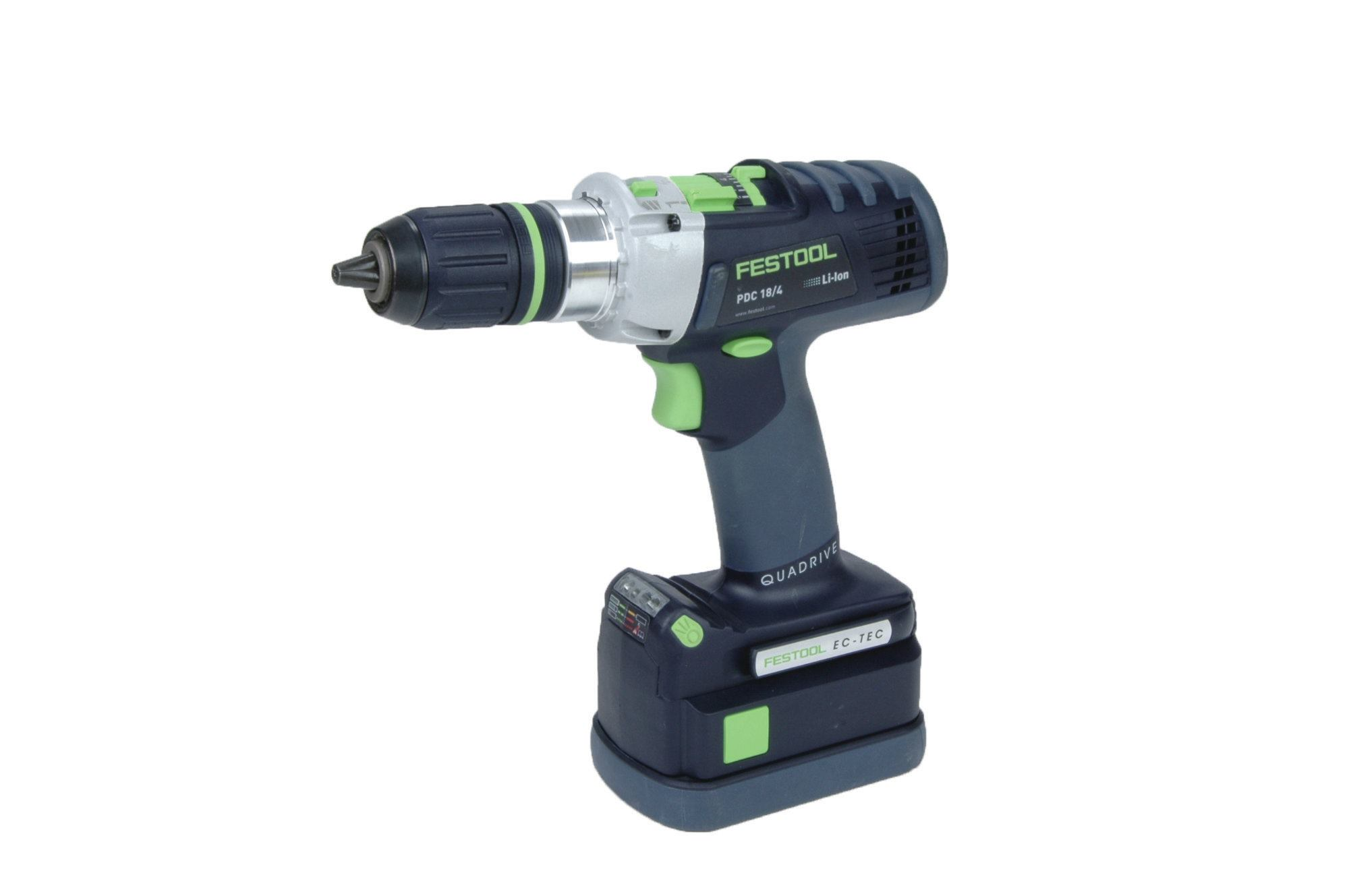 Festool Quadrive Pdc184 Hammer Drill Driver Review Tools