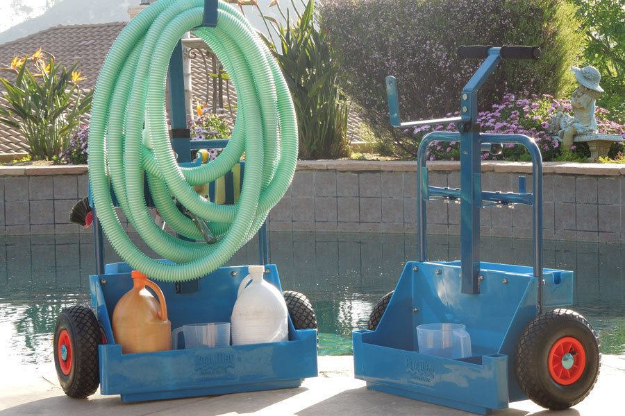 Poolman Offers Affordable Cart Pool Amp Spa News
