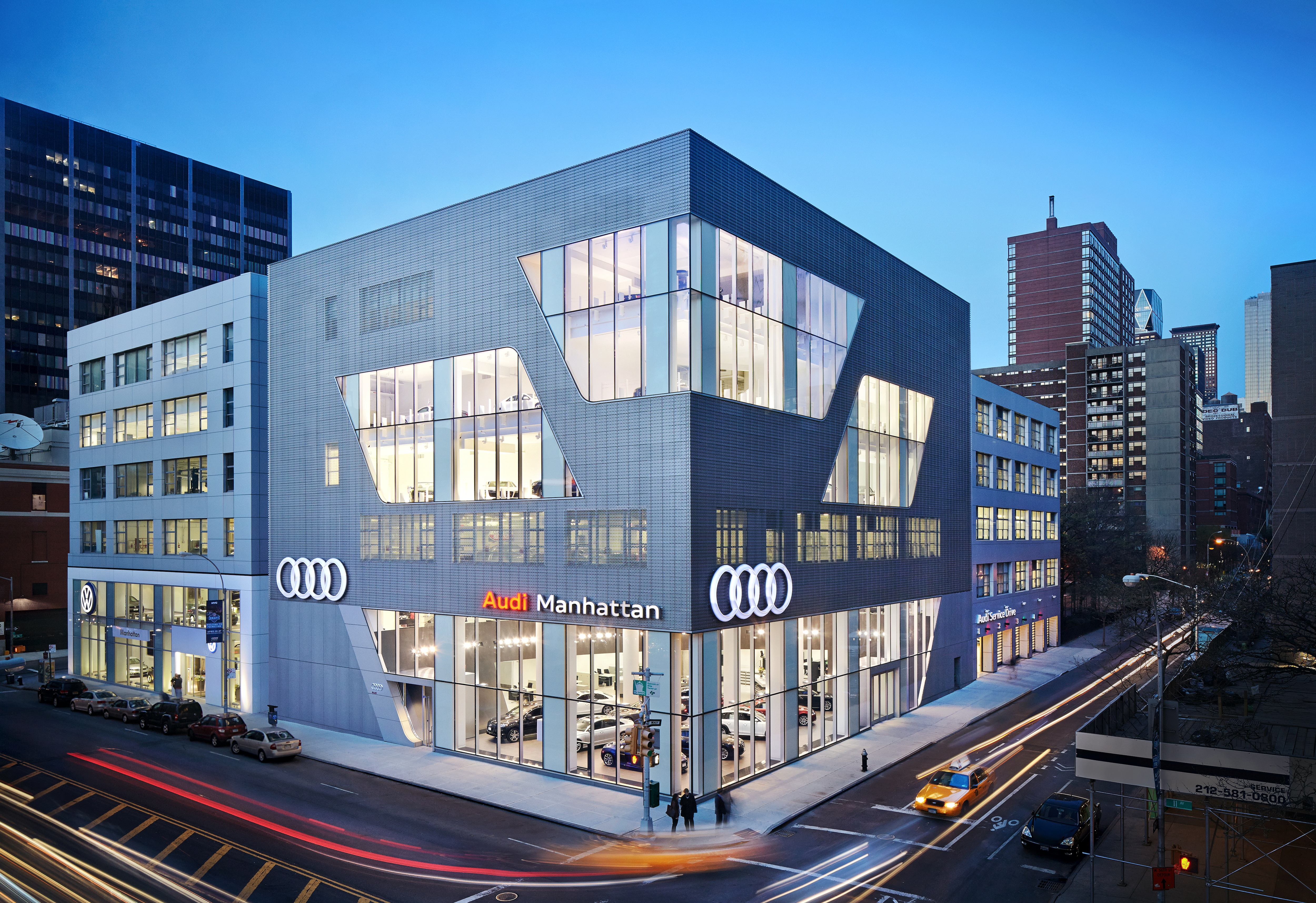 Audi Manhattan Architect Magazine Cr Studio New York