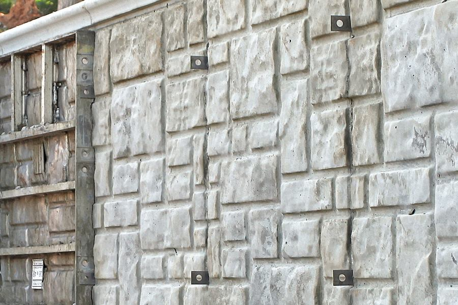Wall Ties Amp Forms Ashlar Stone Concrete Form Concrete