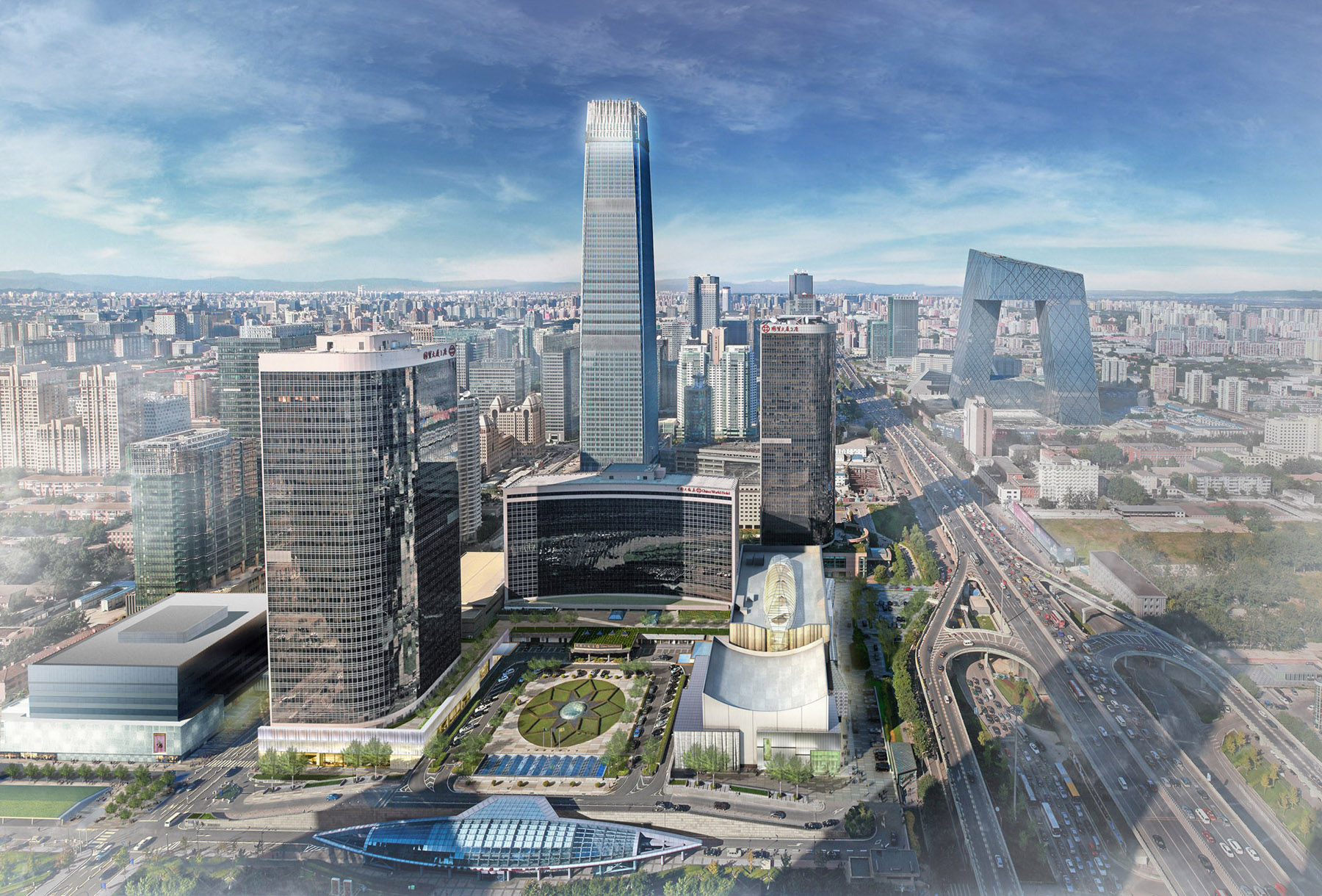 China World Trade Center Architect Magazine 5 Design