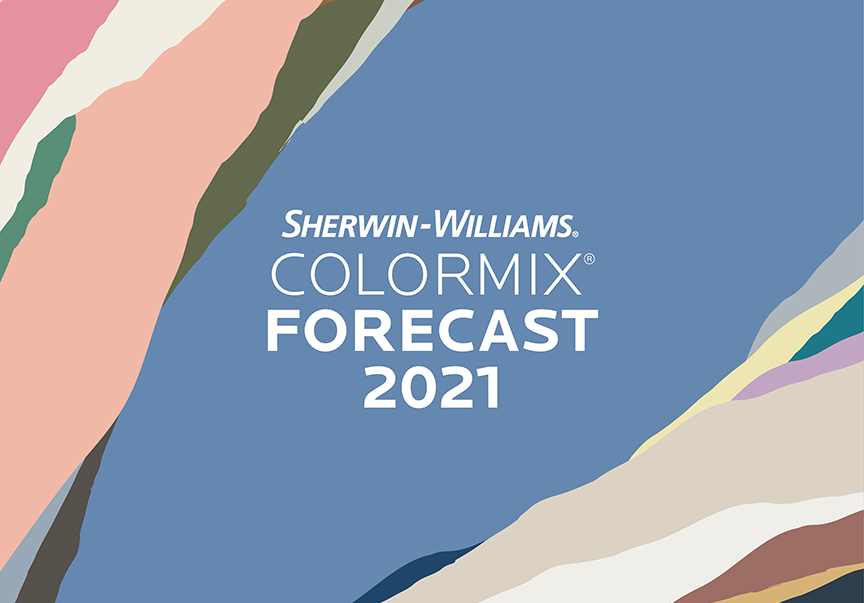 Sherwin Williams Collects Four Color Palettes In 2021 Colormix Forecast Builder Magazine