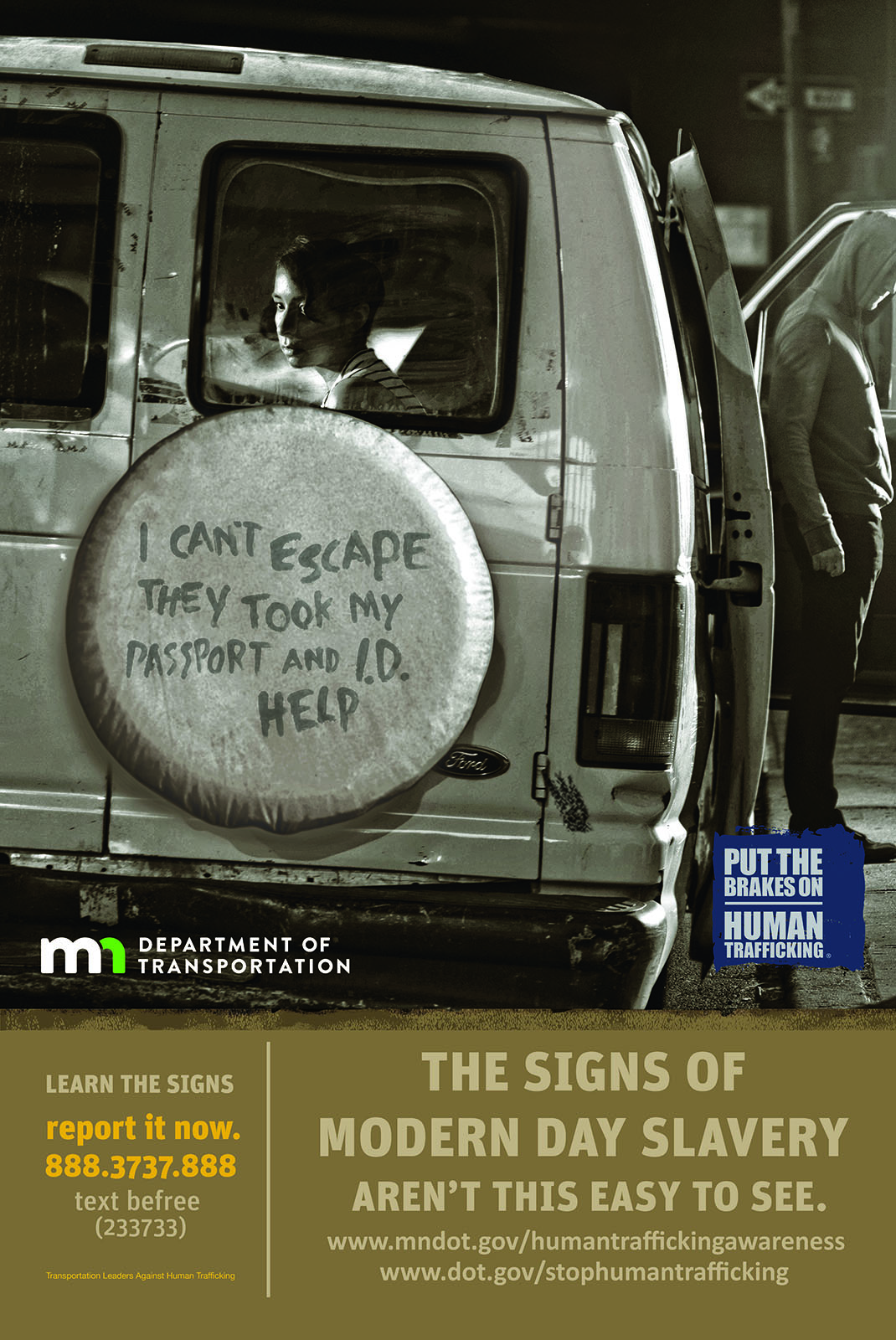 human trafficking ad There are more slaves in our world than at any other point in history but, there are also more people working to end modern-day slavery than ever before read on for 7 organizations (big and small) that are making major strides in ending human trafficking.
