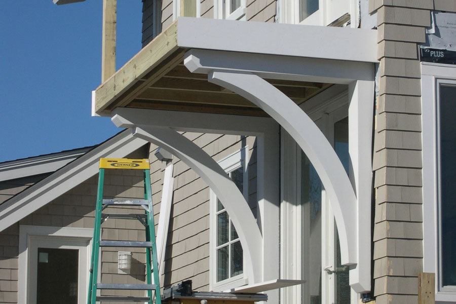 Building Structural Brackets for a Balcony Deck | JLC Online | Decks, Best  Practices, Structure, Framing, Outdoor Rooms, Rhode Island