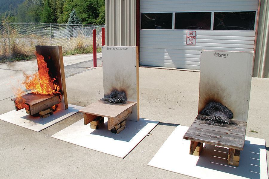 Fire Resistant Decks Professional Deck Builder Codes